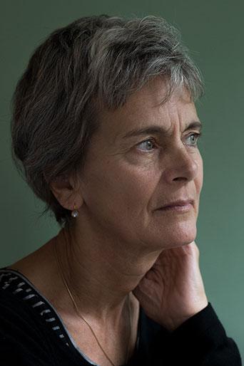 Christina Viragh, Schriftstellerin, Zürich Dez. 2017