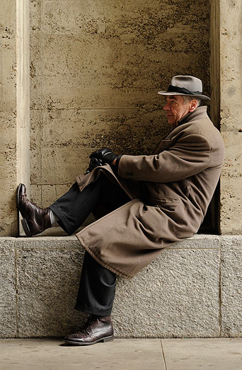 Roger Monnerat, Schriftsteller, Basel 2013