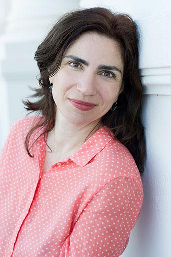 Dana Grigorcea, Schriftstellerin, Zürich 2018
