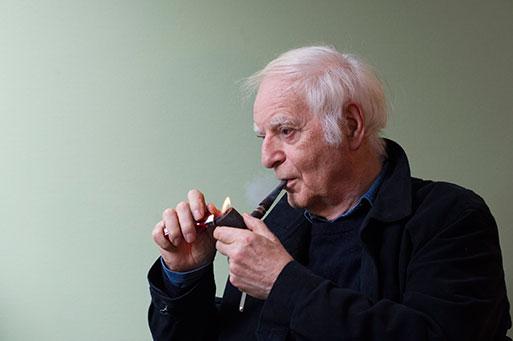 Adolf Muschg, Schriftsteller, Männedorf 2016