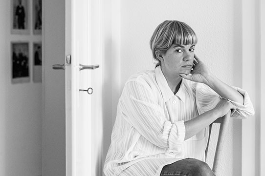 Julia Weber, Schriftstellerin, Zürich 2016