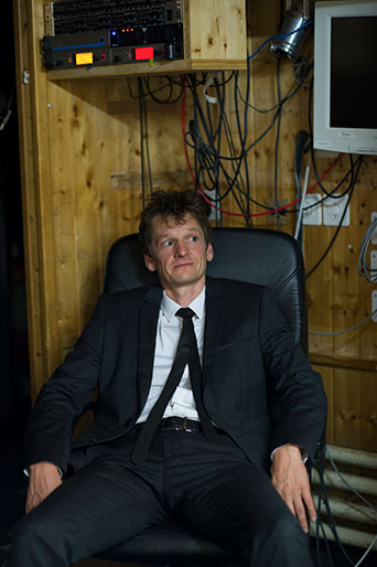 Christoph Simon, Schriftsteller, St.Gallen 2016