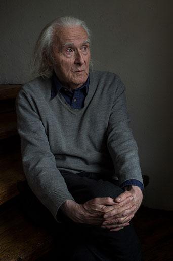 Fritz Senn, Schriftsteller, Zürich Dez.2018