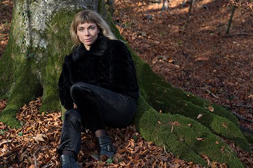 Fanny Wobmann, Schriftstellerin, Lausanne 2017