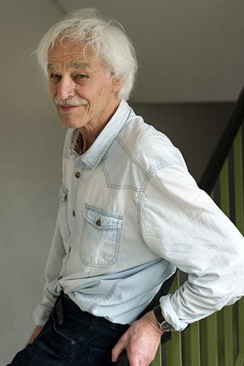 Peter Weibel, Schriftsteller, Bern 2019