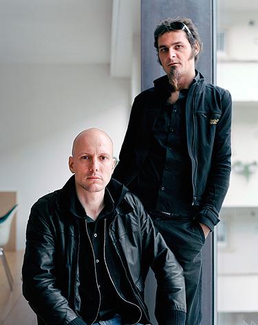 Andreas Bründler, sitzend, Architekt, Basel 2005